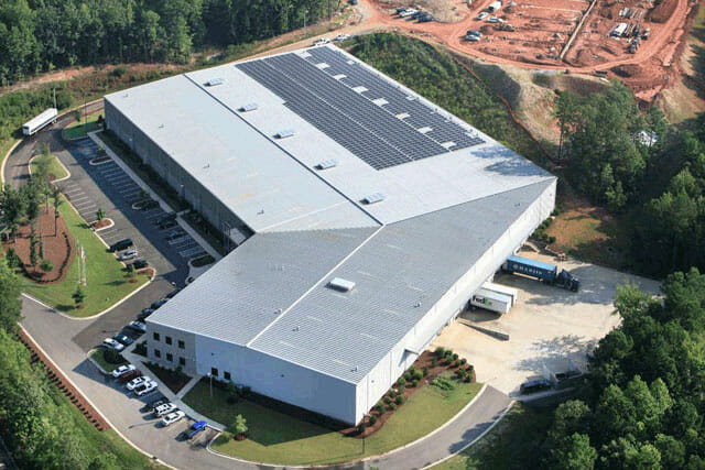 Aerial View of OFM, Inc., Holly Springs, NC
