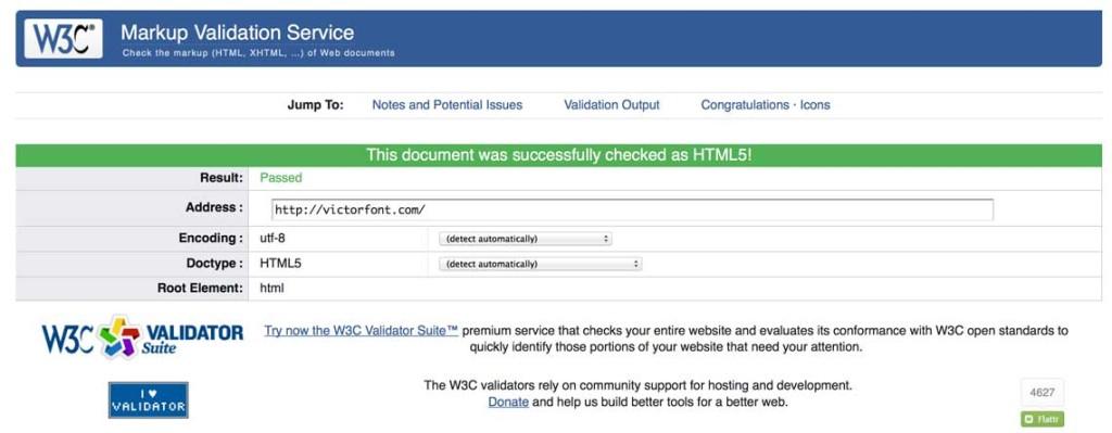 W3C.org Validator