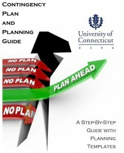 UConn IT Contingency Plan Cover