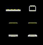 Nessie Micro-B USB Type