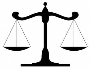 Expert Witness Scales of Justice