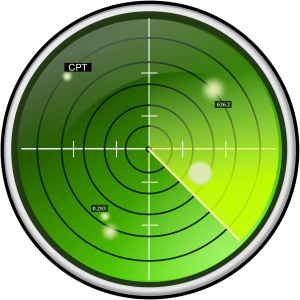 Add CPTs to WordPress Searches Radar screen, public domain image courtesy of pixabay.com