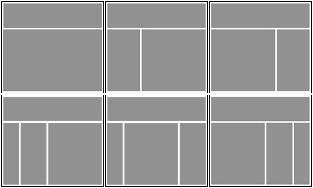Genesis Framework Layouts