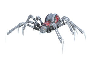 Spider robot, CC0 Creative Commons license from pixabay.com